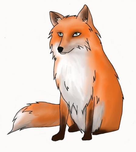 Fuchs im Nichts