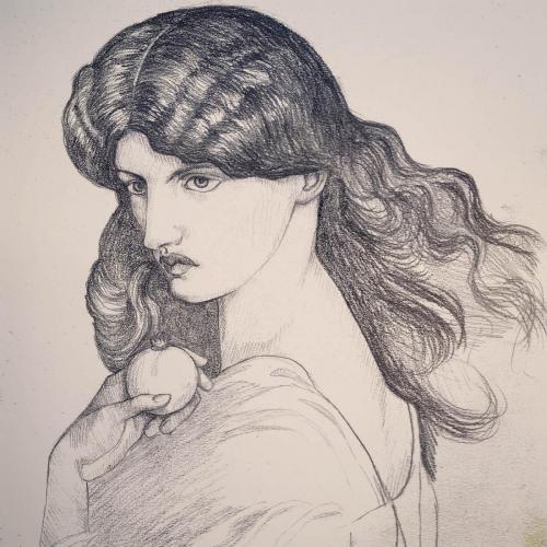 PersephoneOriginal von Dante Gabriel Rossetti